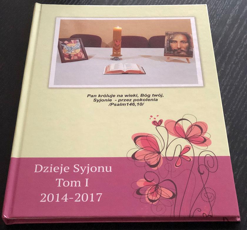 Kronika Syjonu tom 1 - okładka