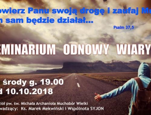 Kolejne Seminarium Odnowy Wiary