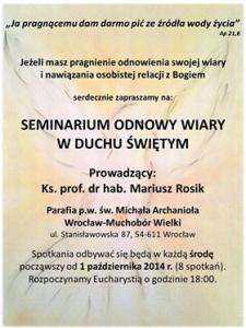 Pierwsze seminarium
