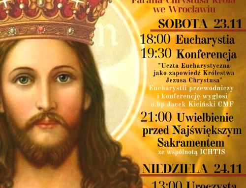Odpust w Parafii Chrystusa Króla 23.11.2019